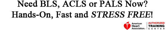BLS, ACLS and PALS Classes