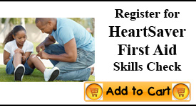 Heartsaver First Aid Skill Check Louisville
